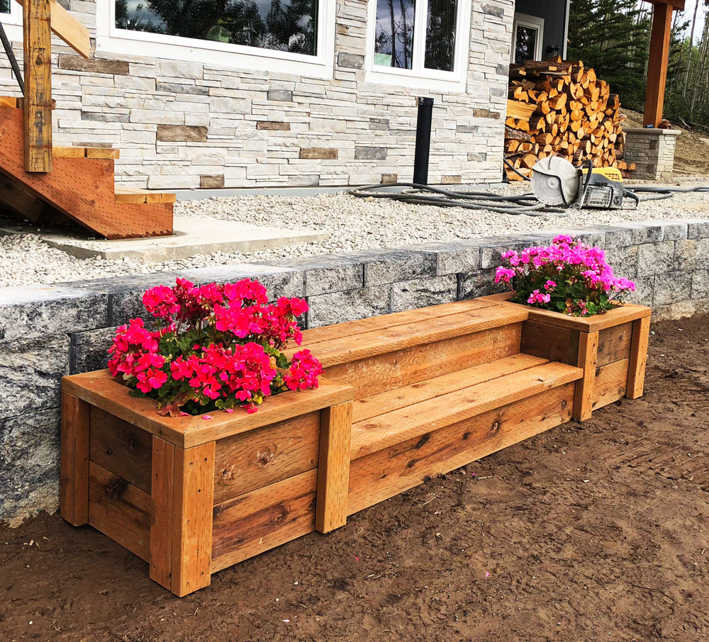 Outdoor Planter Steps Or Benches Ana White