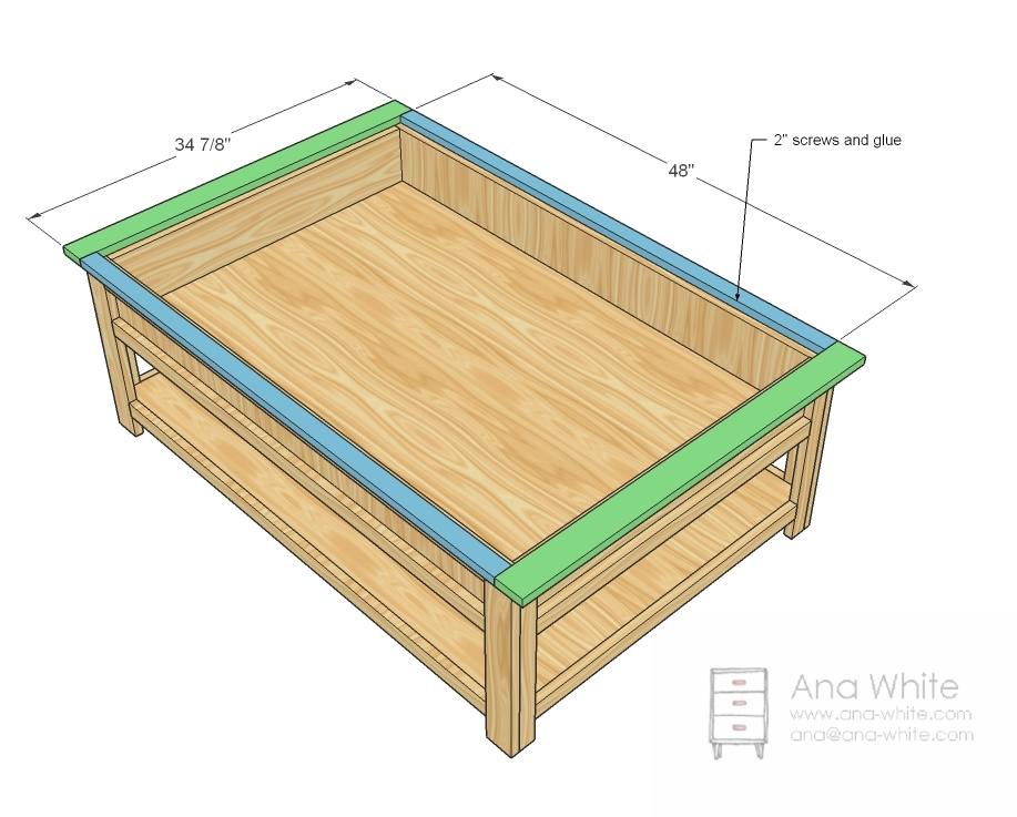 Woodwork N scale coffee table layout plans Plans PDF ...