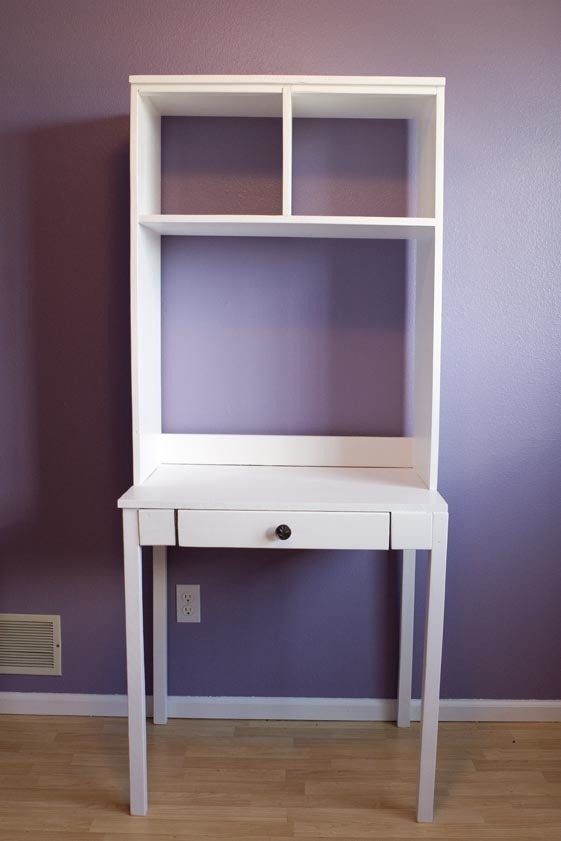 Cubby Desk and Hutch | Free and Easy DIY Project and Furniture Plans