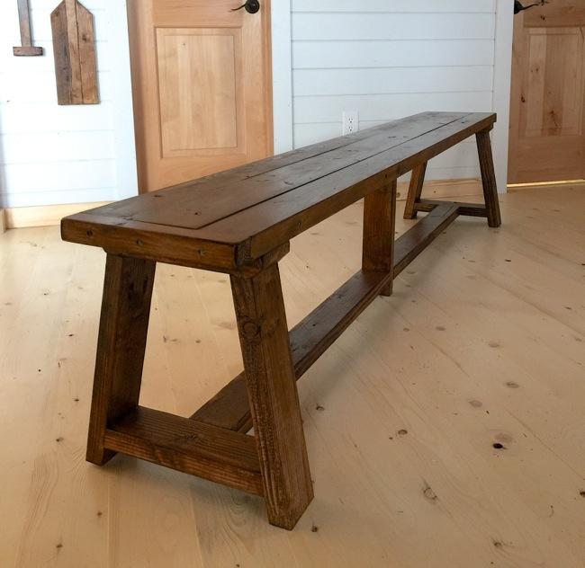 Superb 2X4 Truss Benches For Alaska Lake Cabin Ana White Evergreenethics Interior Chair Design Evergreenethicsorg
