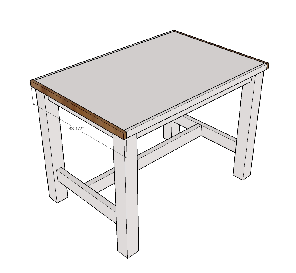 diy farmhouse table instructions