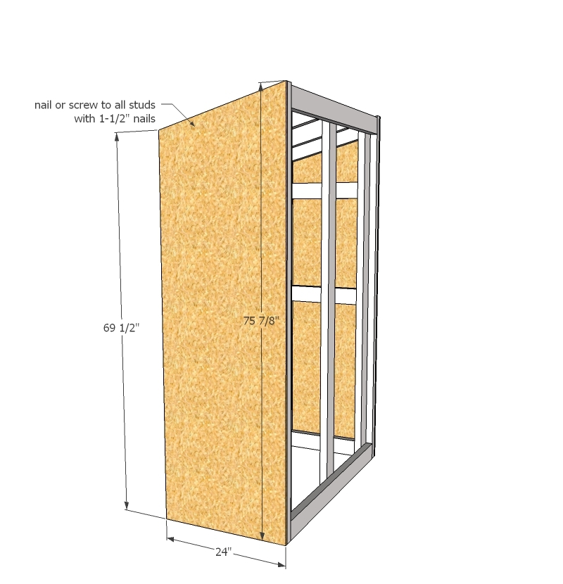 Delightful Ana White | Small Outdoor Shed Or Closet Converted Into Smokehouse   DIY  Projects