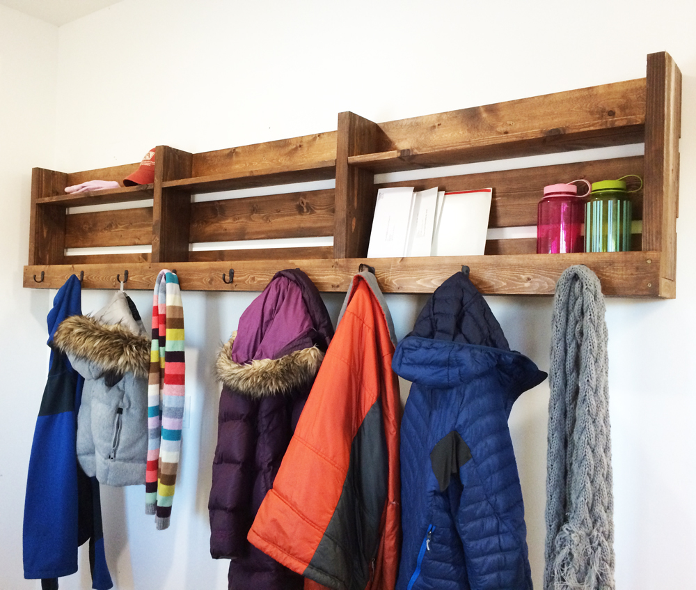 Unit To Hang Coats And Store Shoes