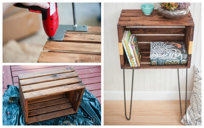 A Few of My Favorite Wood Crate Furniture Ideas