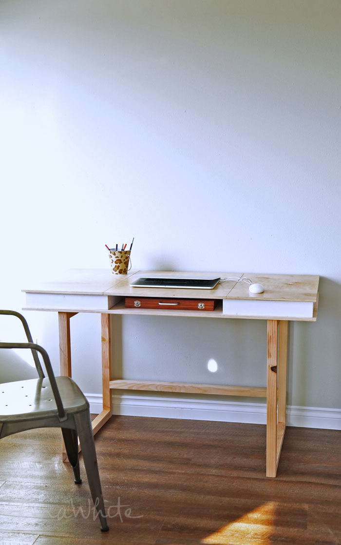 Easy Modern Desk Base Free Plans By Ana White Com