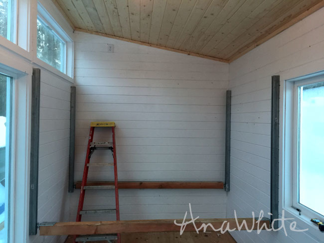 Ana White Diy Elevator Bed For Tiny House Diy Projects