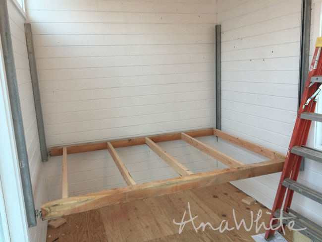 DIY Elevator Bed for Tiny House | Ana White