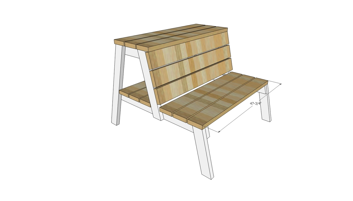 Ana white firepit benches with table and storage diy for Instructions on how to build a table