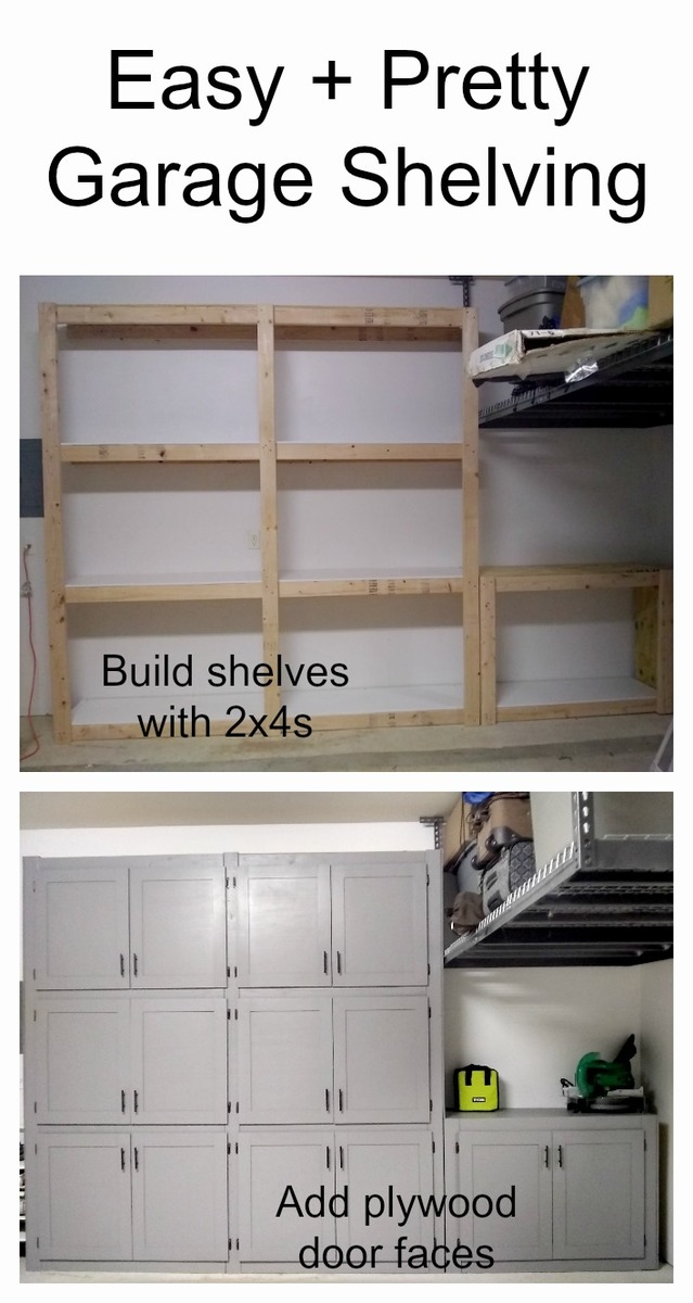 Garage Shelves With Doors Ana White