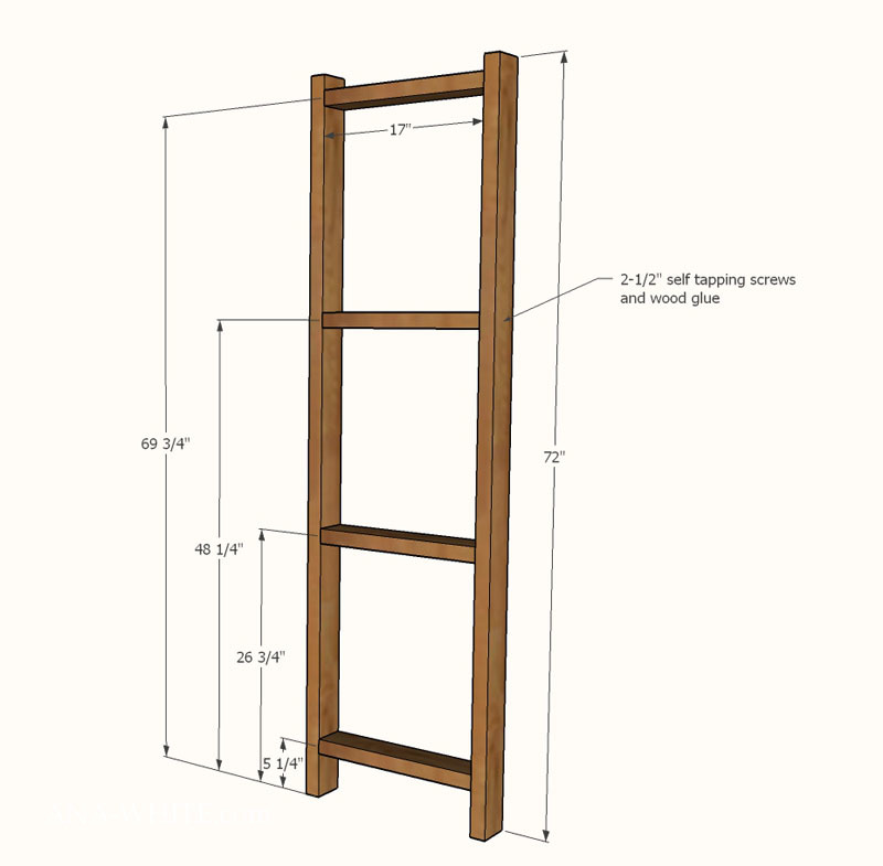 Ana white easy economical garage shelving from 2x4s for Easy diy shelves