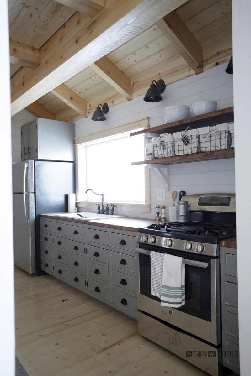 Diy Kitchen Cabinets ~ Ana white diy apothecary style kitchen cabinets