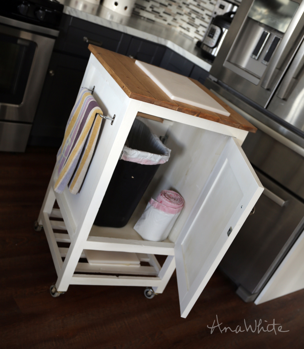 free kitchen island plans white how to small kitchen island prep cart with 17743