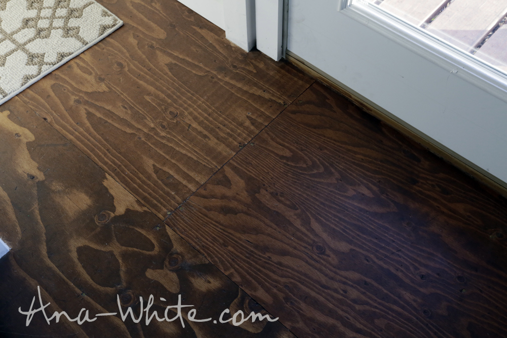 Video How To Stain Plywood Floor Subfloor Flooring Tiny
