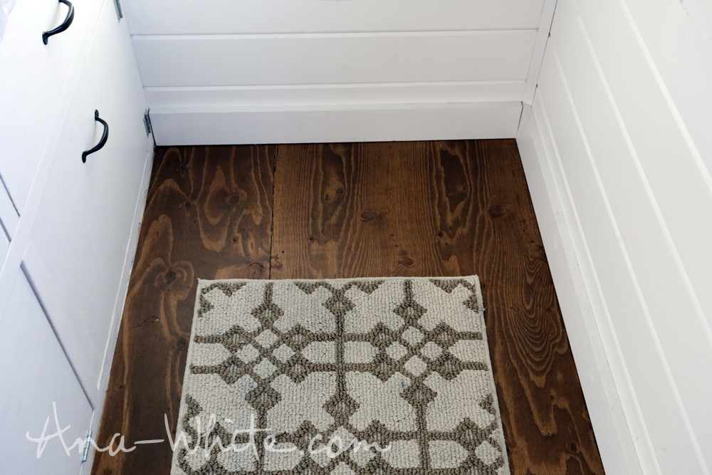 We Choose To Just Stain And Finish The Plywood Subfloor To Save Money,  Weight And Headroom (and Another Step Installing It), But Love It Because  It So ...