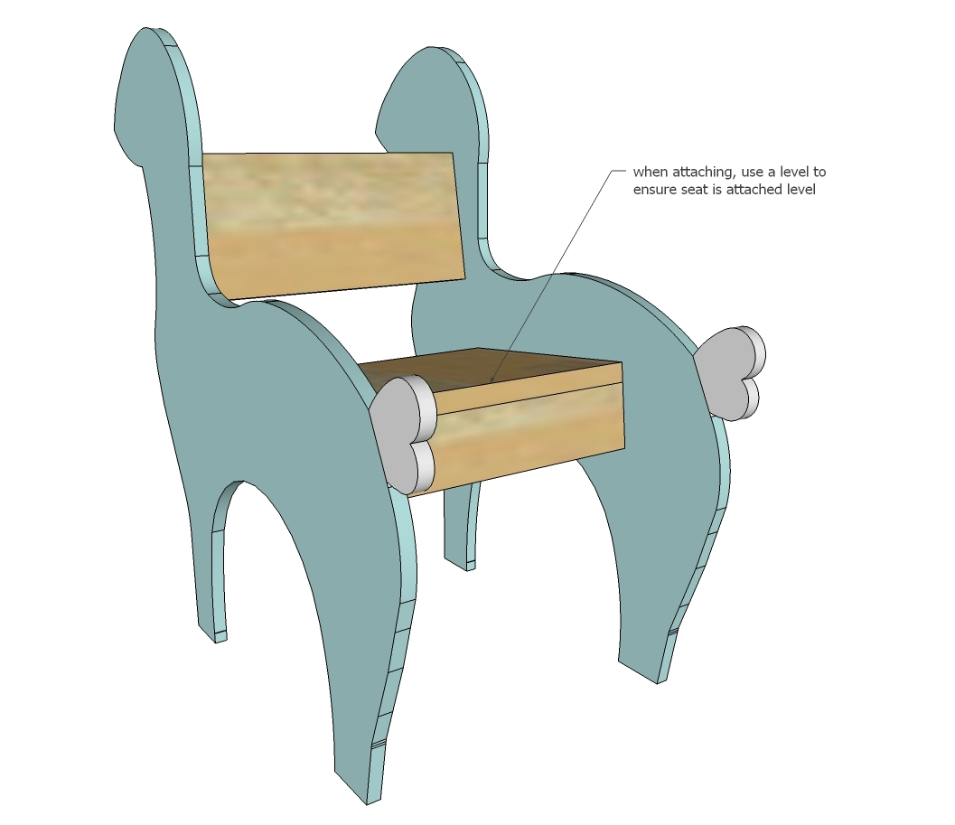 Ana white reindeer rocking chair diy projects for Chair design templates