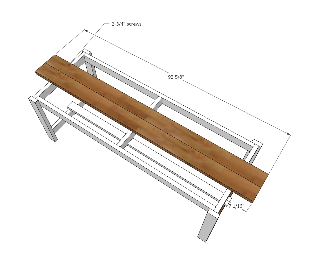 Ana White Beginner Farm Table 2 Tools 50 Lumber
