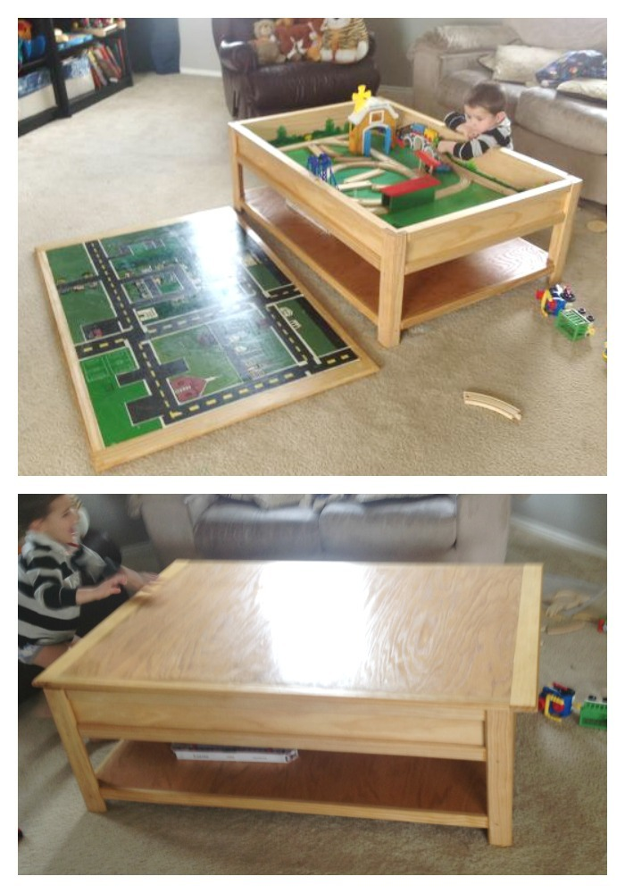 Train table coffee table best home design 2018 Train table coffee table