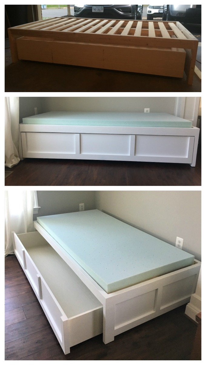 Ana White | Daybed with Storage - DIY Projects
