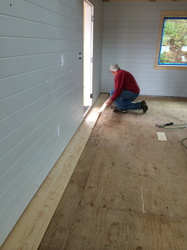 Using Pine Boards As Flooring ~ Floor spruce up ana white woodworking projects
