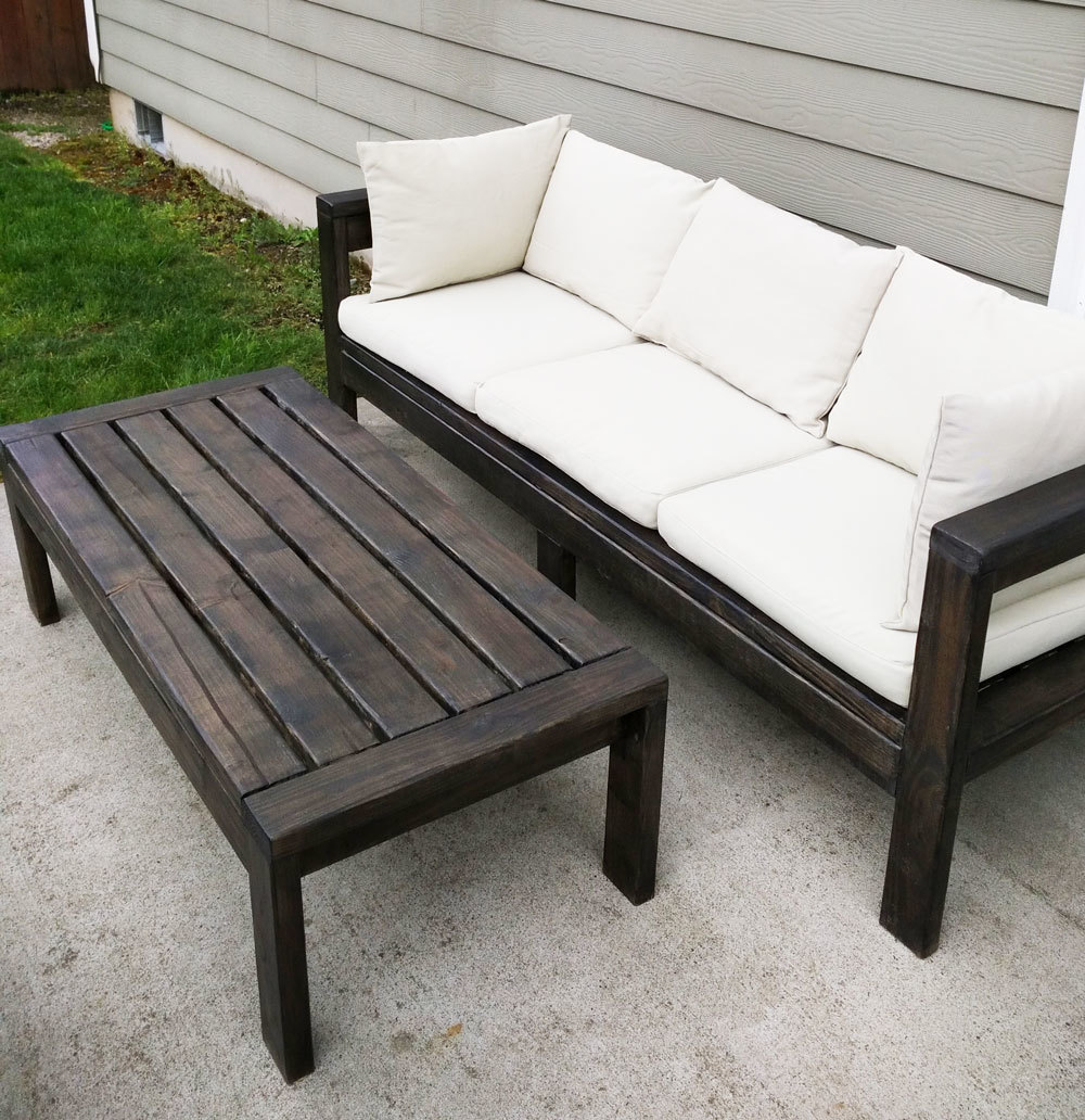 2x4 Outdoor Sofa Ana White
