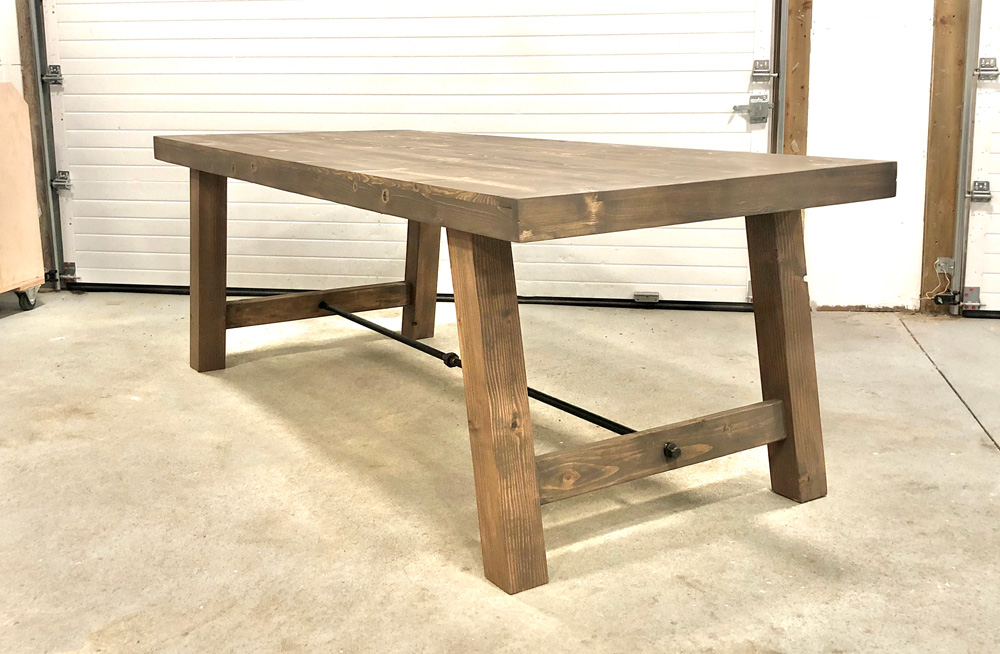 benchwright farmhouse table DIY