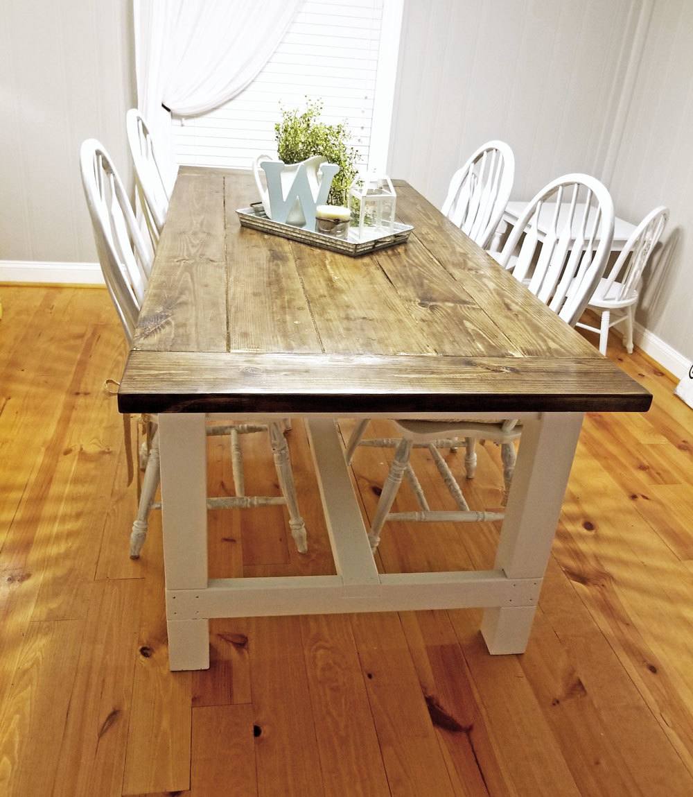 My Ana white farmhouse table | Ana White