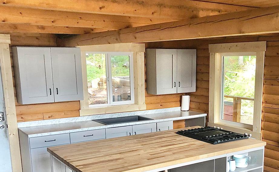 Frameless Kitchen Wall Cabinet From Shelf Help Ana White