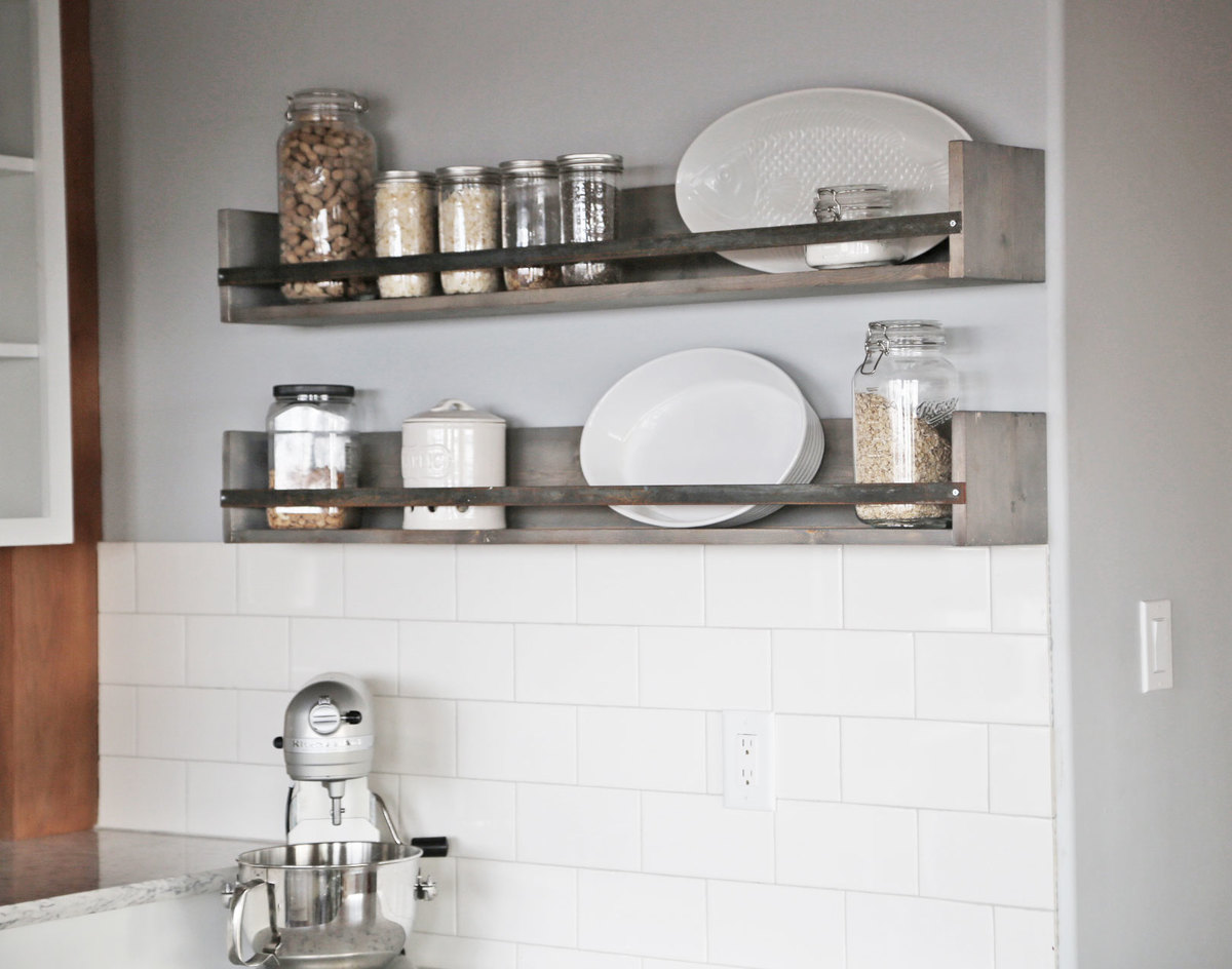 Ana White | Rustic Shelves - DIY Projects