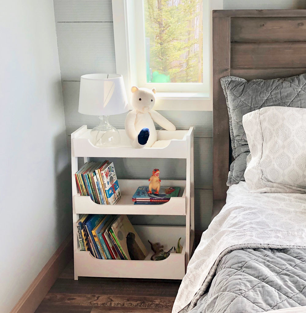 small ladder bookshelf | woodwork inspiration Ladder Nightstand