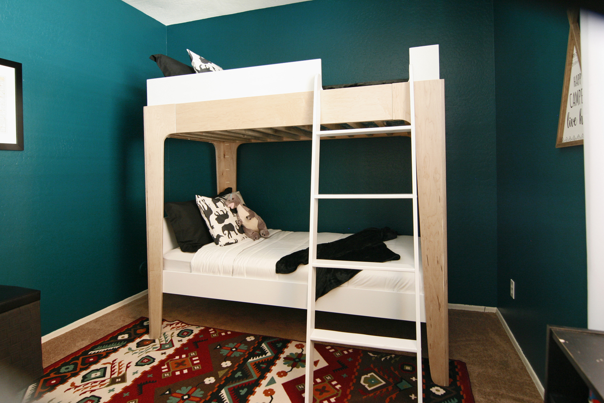 Design Contemporary Bunk Beds ana white modern bunk beds diy projects click here for plans