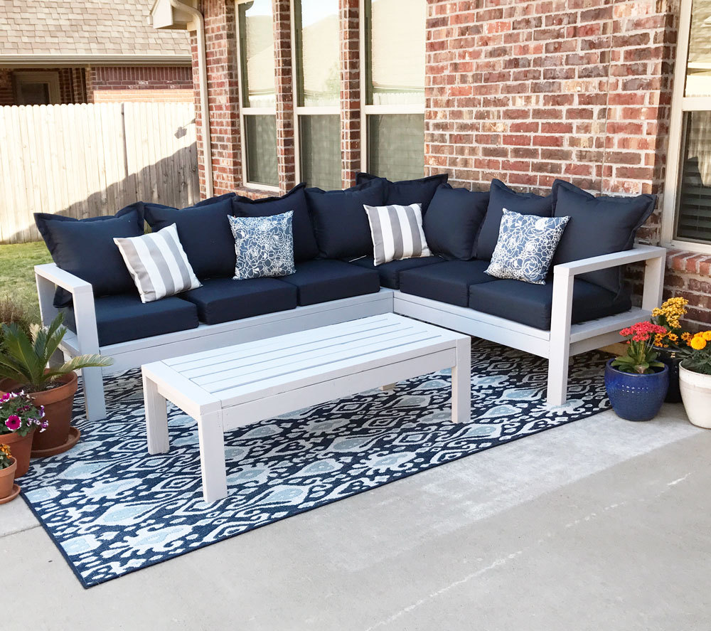 2x4 Outdoor Sofa | Ana White