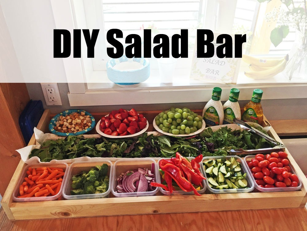 Ana White | Tabletop Salad Bar Crate - DIY Projects
