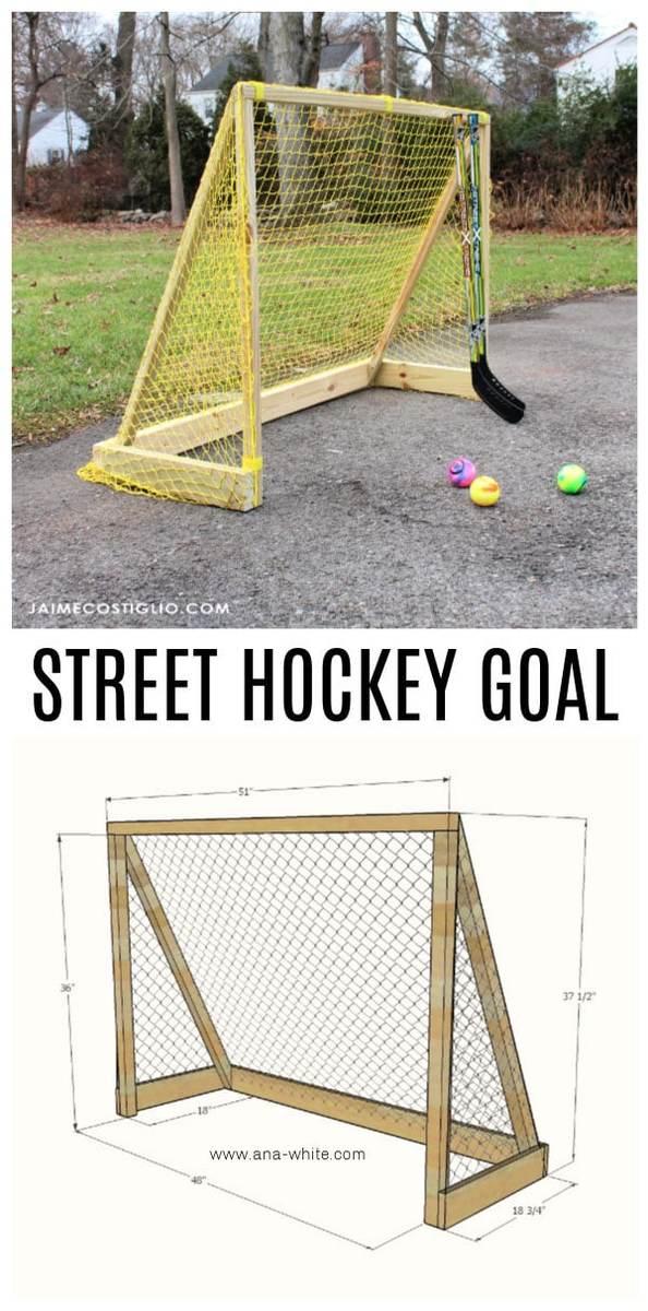 Street Hockey Goal - Lacrosse, Soccer, Multi-sport Goal | Ana White