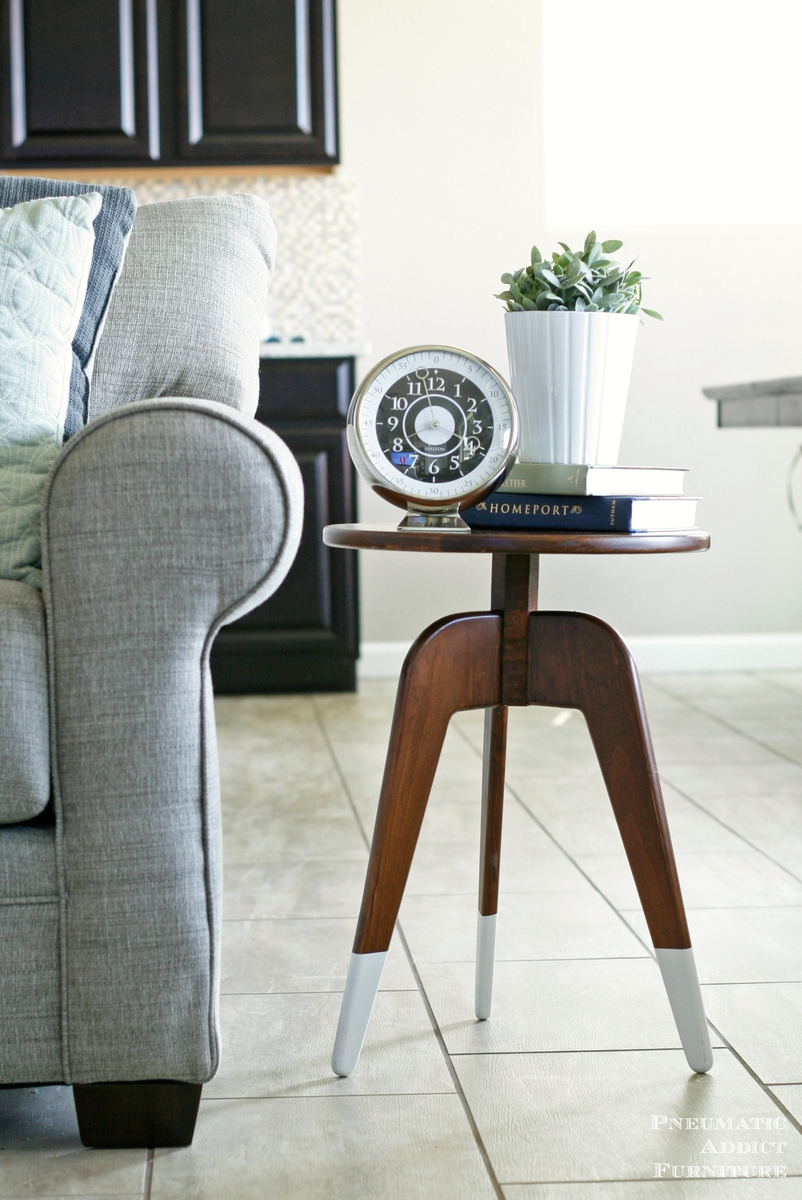 how to build modern 3 leg end table