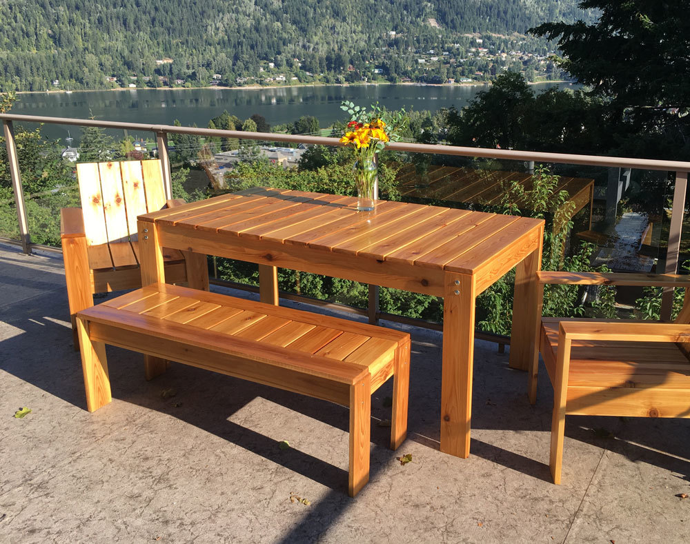 diy outdoor dining table