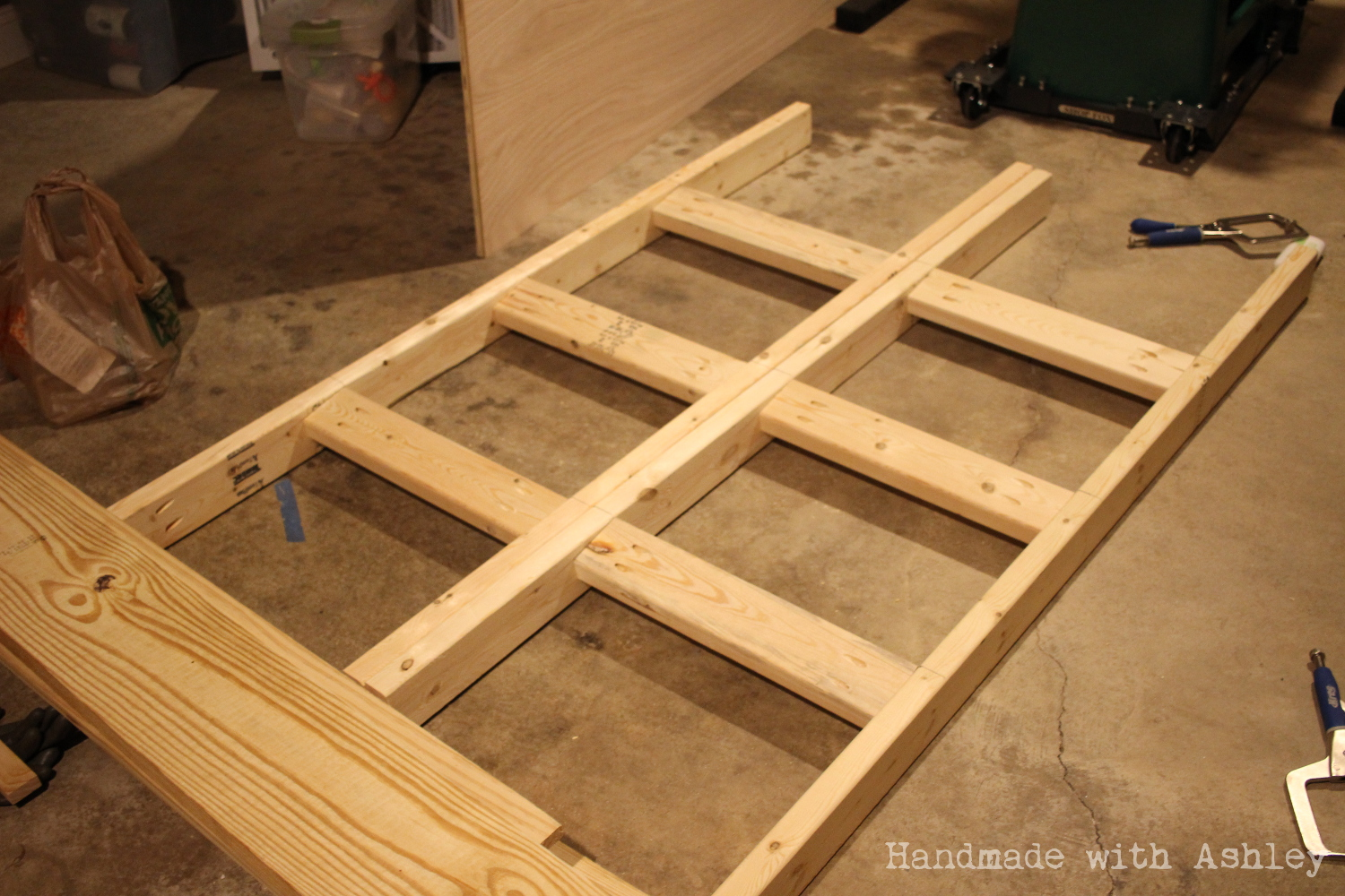 Ana White | DIY Mobile Lumber Rack - DIY Projects