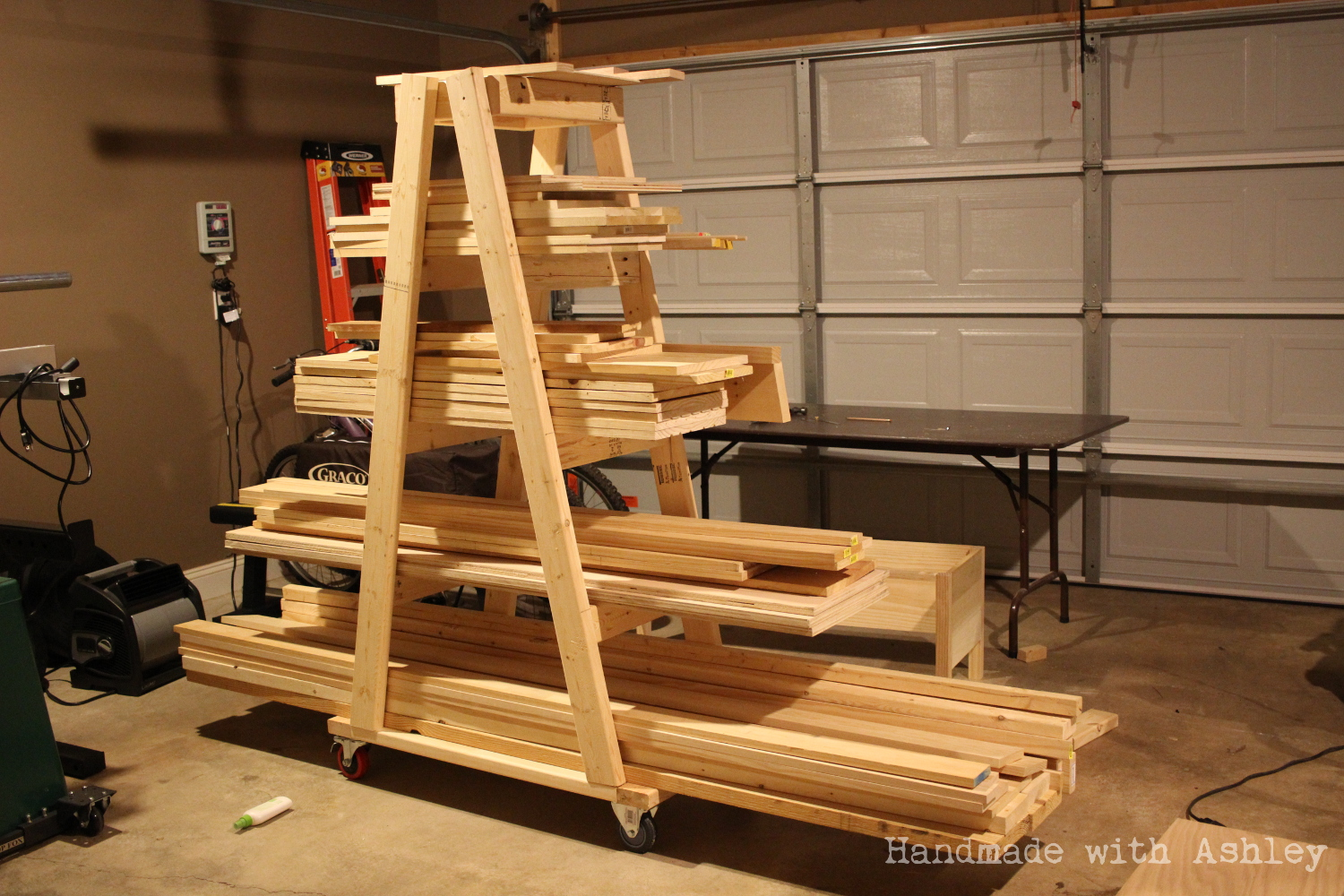 flexible lumber ideas wood using introduction mobile rack scrap storage pallets