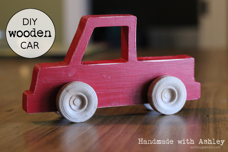 diy wooden toy truck | ana white