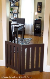 Ana White Diy Dog Gate Diy Projects