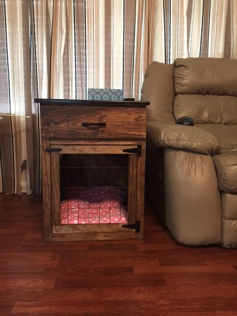 Ana White Smaller Dog Crate With A Drawer Diy Projects
