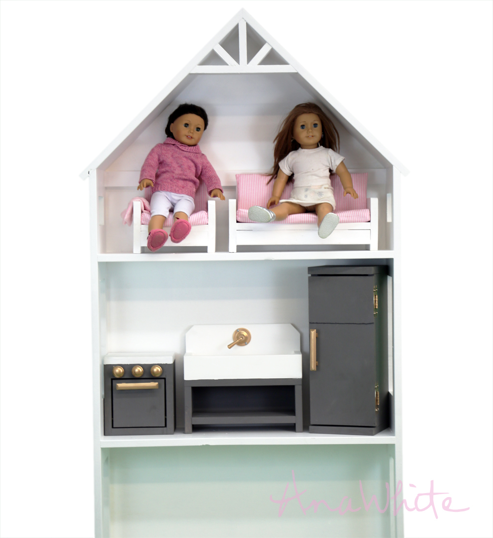 Build Your Own Doll Kitchen Free Plans By Ana White