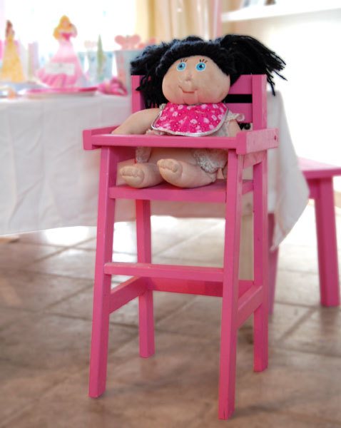 Ana White | Doll High Chair - DIY Projects