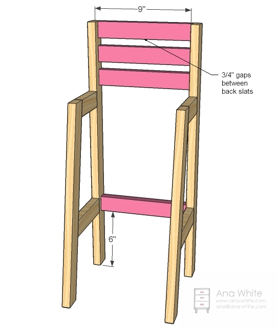 Build The Chair Sides As Shown Above. Use 2u2033 Screws Predrilled From The  Outsides Of The Chair Back And Fronts Into The Ends Of The Side Rails, ...