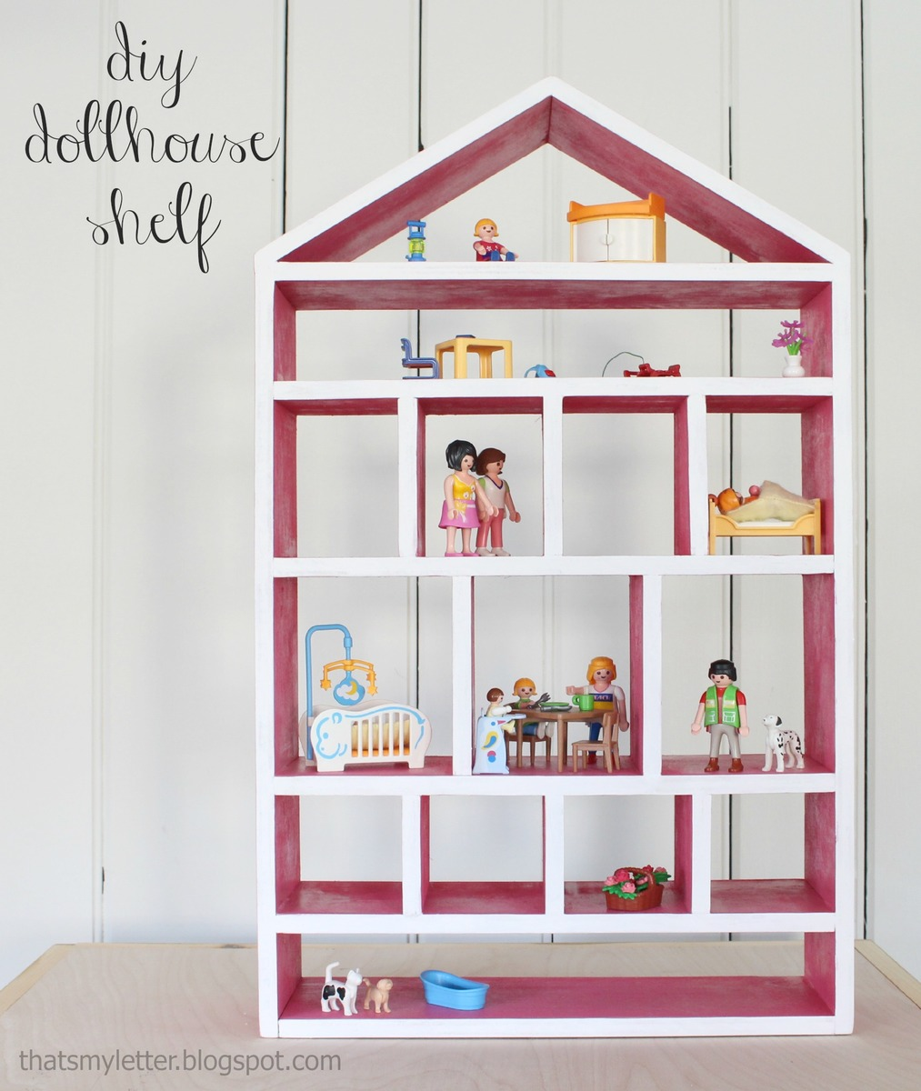 ana white | dollhouse wall shelf - diy projects Basic Wall Shelves
