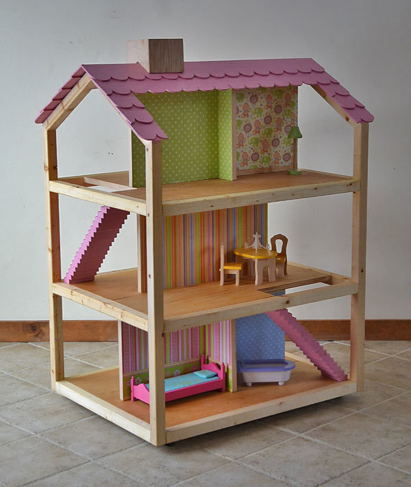 Ana white dream dollhouse diy projects How to make your dream house