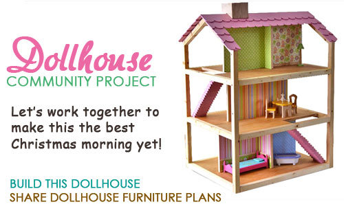 ... Dream Dollhouse | Free and Easy DIY Project and Furniture Plans