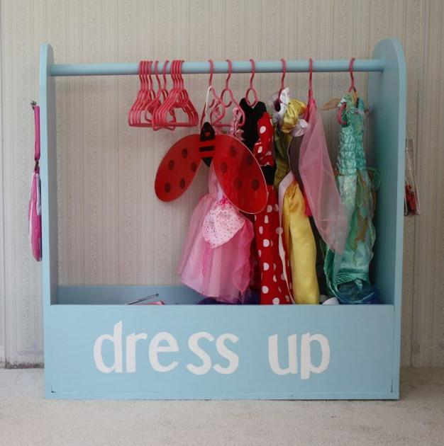 Ana White | Craftiness is Not Optional's Dress Up Storage - DIY ...