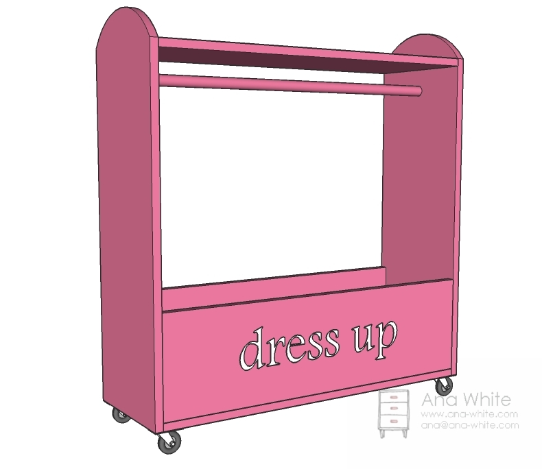 Beautiful Ana White | Craftiness Is Not Optionalu0027s Dress Up Storage   DIY Projects