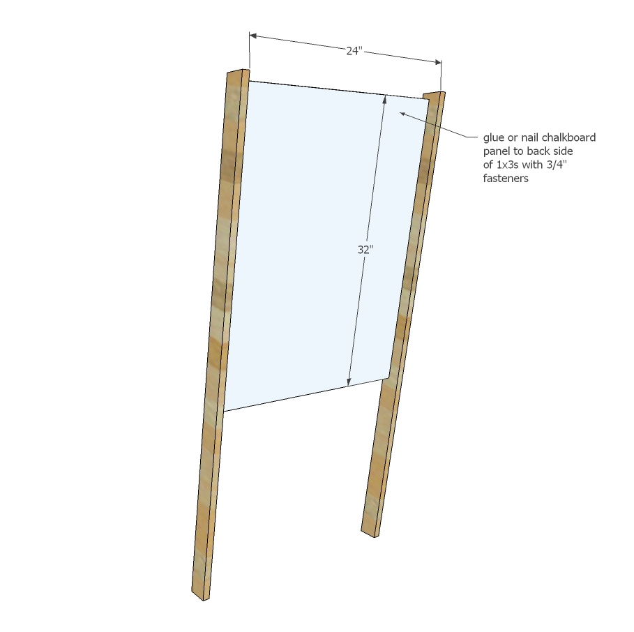 Ana White | Easel for Kids - DIY Projects