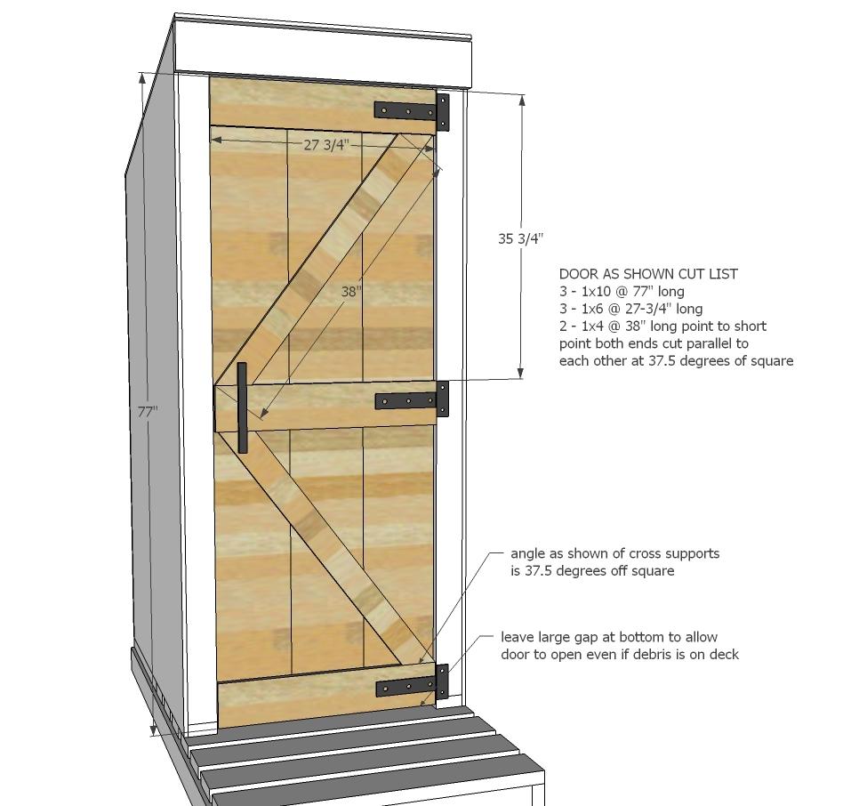simple outhouse | ana white  ana white